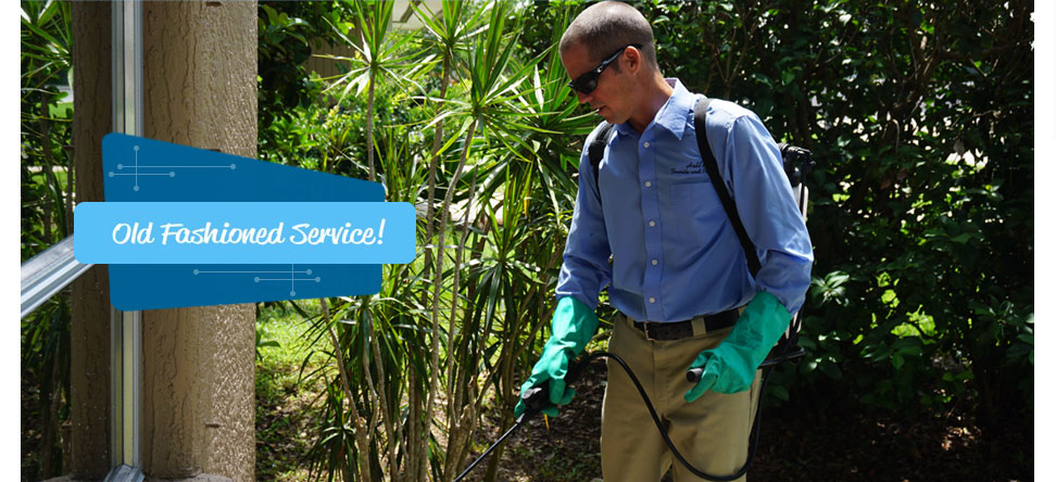 Pest control technician in Sarasota FL